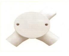 明装三通圆接线盒(三叉司令箱)
